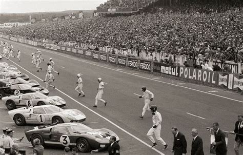 The basic premise of the story is very much factual. The True Story of 'Ford v. Ferrari'   Popular Mechanics