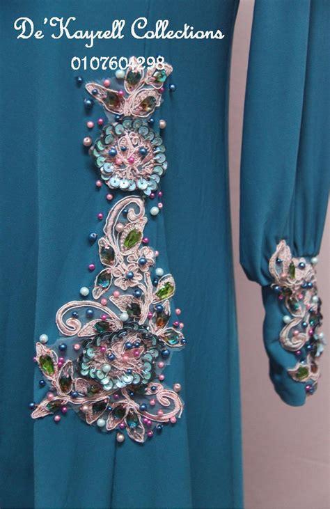 de kayrell collections patch lace manik tuk kaftan kak noris