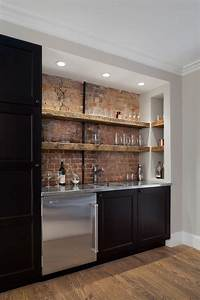 best 25 industrial basement bar ideas on pinterest With kitchen cabinets lowes with basement wall art ideas