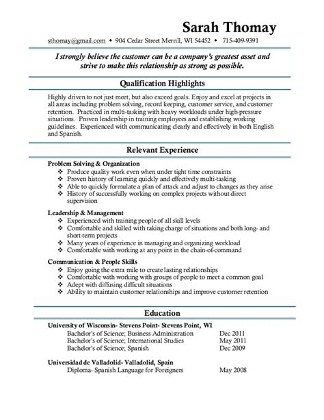 Resume Format Of Pharmacy Student by Pharmacy Technician Resume Exles Best Resumes