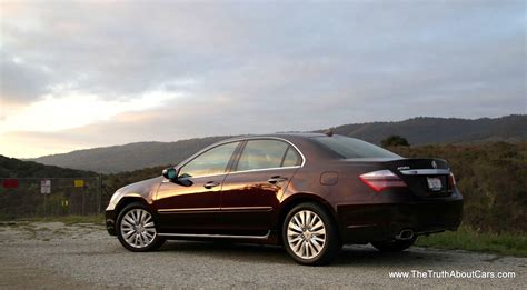 review 2012 acura rl the truth about cars
