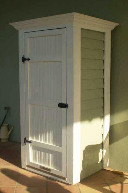 storage  hide  water heater  patio storage