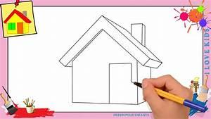 comment dessiner sa maison 2421 sprintco With dessin de maison facile