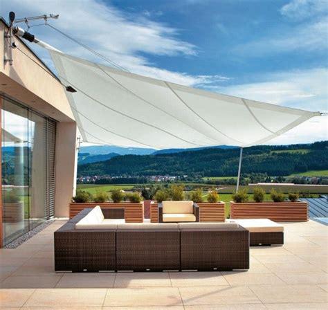 Sonnensegel Für Terrasse by Sonnensegel Als Sonnenschutz F 252 R Die Terrasse 44 Ideen