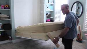 DIY wall bed for under $150 (bed is around $75, shelves