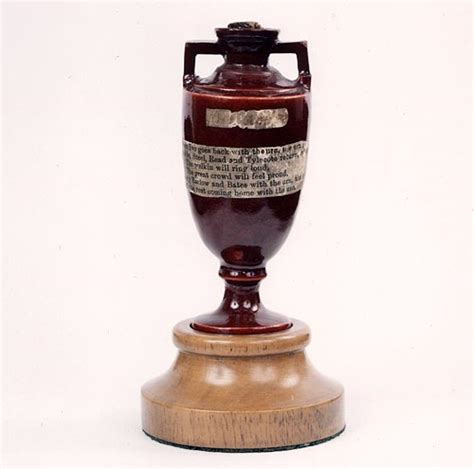 tiny ashes urn proves attraction cricket