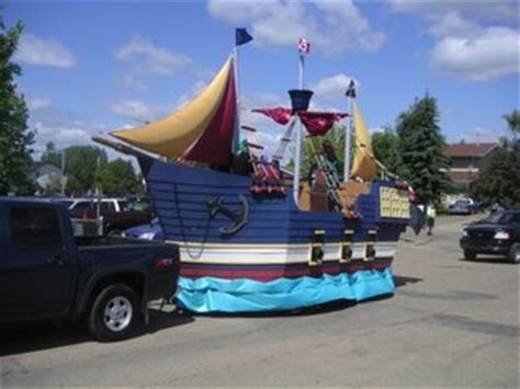 Parade Float Decorations Edmonton by Pirate Ship Parade Float