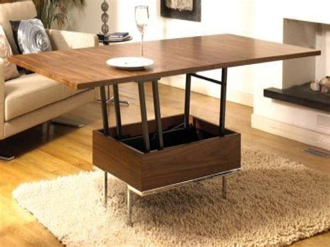 A coffee table you can transform into a dining table, source: 30 Collection of Coffee Table to Dining Table