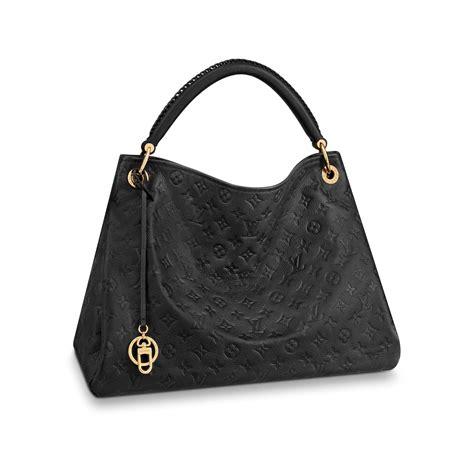 christmas handbags artsy mm monogram empreinte leather