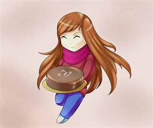 Chibi Vera with a cake by Lutherine on DeviantArt