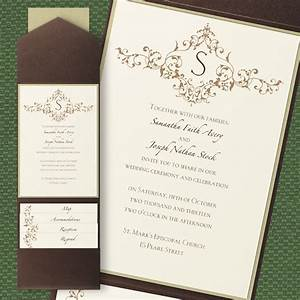 french vintage pocket wedding invitations little flamingo With pocket wedding invitations online australia
