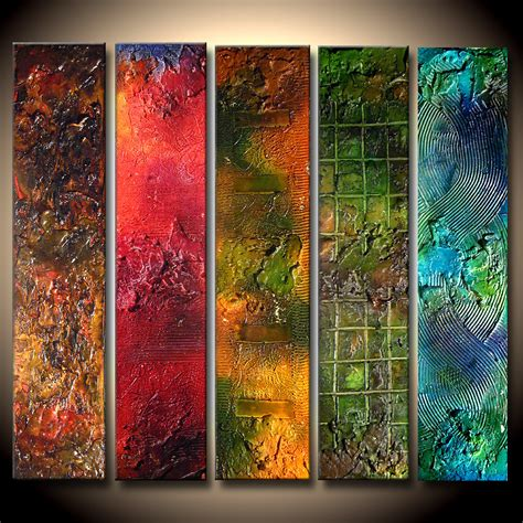modern painting abstract painting textured colorful abstract painting