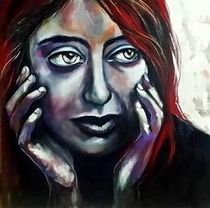 Peinture Visage Femme : d 39 art et d 39 esprit quelques essais de peinture page 2 ~ Melissatoandfro.com Idées de Décoration