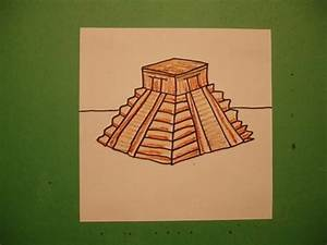 Let's Draw an Aztec Temple - YouTube