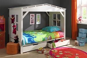 Lit Maison Enfant : lit cabane enfant timeo sorti tout droit d 39 un r ve d ~ Farleysfitness.com Idées de Décoration