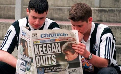 Kevin Keegan left Newcastle United 24 years ago today ...