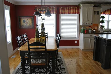 red kitchen walls with white cabinets home by heidi i 39 m keeping the red i think