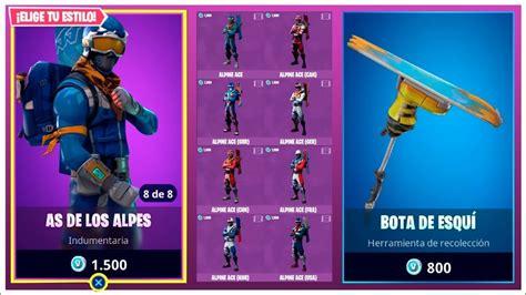 nuevas skins epicas  nuevo pico fortnite battle