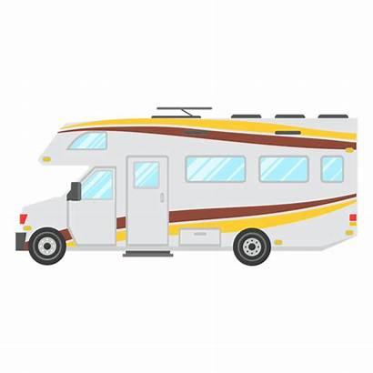 Motorhome Vector Icon Vehicle Transparent Camper Svg