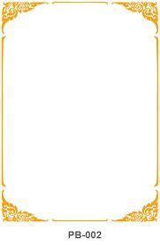 gold page borders frames pinterest gold planner