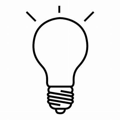 Bulb Drawing Coloring Pages Drawings Line Christmas