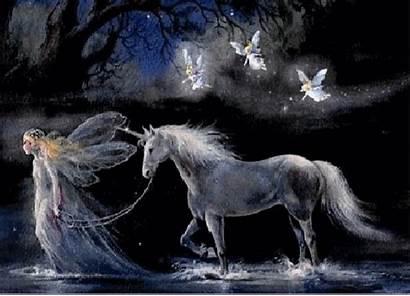 Animated Fairy Angels Desktop Wallpapers Fairies Unicorn