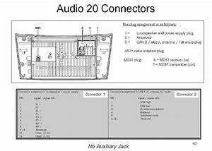 Smart Audio 20 Quadlock Connector Pinout Diagram