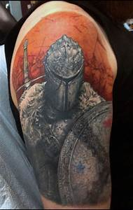 Top 80 Best Knight Tattoo Designs For Men - Brave Ideas