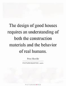 The design of g... Construction Material Quotes