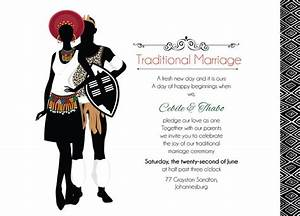 zulu wedding downloadable south african zulu traditional With sotho traditional wedding invitations