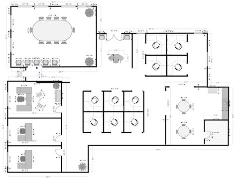 draw floor plans  smartdraw   easily draw