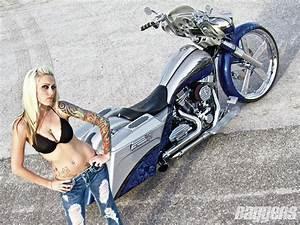 HD Custom Chopper Motorbike Tuning Bike Hot Rod Rods Image
