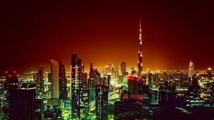 U041e, U0431, U043e, U0438, U0414, U0443, U0431, U0430, U0438, Burj, Khalifa, Dubai, Cityscape, Night, 4k