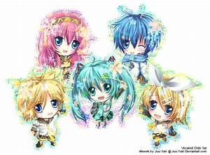 Vocaloids Chibi - Vocaloids Photo (23412484) - Fanpop