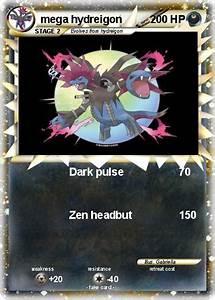 Pokémon mega hydreigon 5 5 - Dark pulse - My Pokemon Card