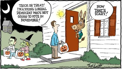 Republican Halloween Meme - political cartoon personal liberty 174