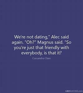 Magnus Bane Quotes To Alec | www.pixshark.com - Images ...