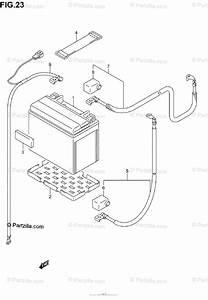 Suzuki Atv 2002 Oem Parts Diagram For Battery