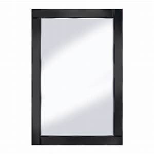 bevelled black 120x80 large wall mirror 15136 furniture in With miroir 120x100