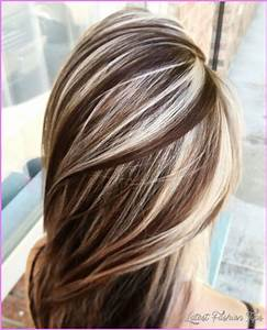 Chocolate Brown Hair With Blonde Highlights ...