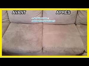 Nettoyer Un Abat Jour : comment nettoyer un canap en microfibres facilement youtube ~ Dallasstarsshop.com Idées de Décoration