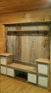 1000 ideas about pallet walls on pinterest pallet wall With kitchen cabinets lowes with large pallet wall art