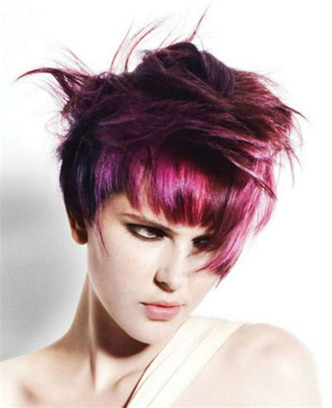 funky hair color ideas for