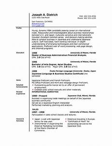 Job resume templates free microsoft word south florida for Free resume download word