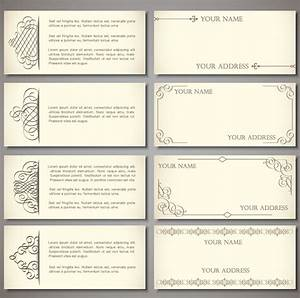 best photos of template of card free business card With complimentary card template