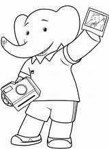 Camera Coloring Polaroid Getdrawings Babar Drawing Template Elephant Sketch Whitesbelfast Credit Library Clip sketch template