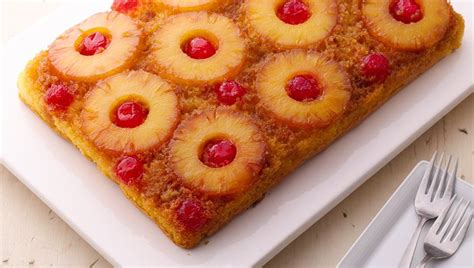 delectable pineapple upside  cake recipes  cake