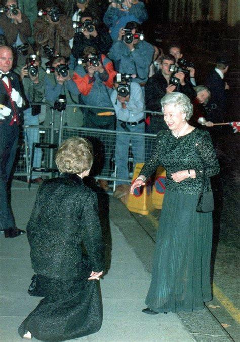 queen  impressions  margaret thatcher dean palmer