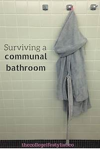 Surviving a communal bathroom xocollegelife for List of colleges with coed bathrooms