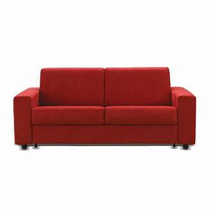 canape 2 places design moderne ecocuir tissu produit en With canapé moderne 2 places